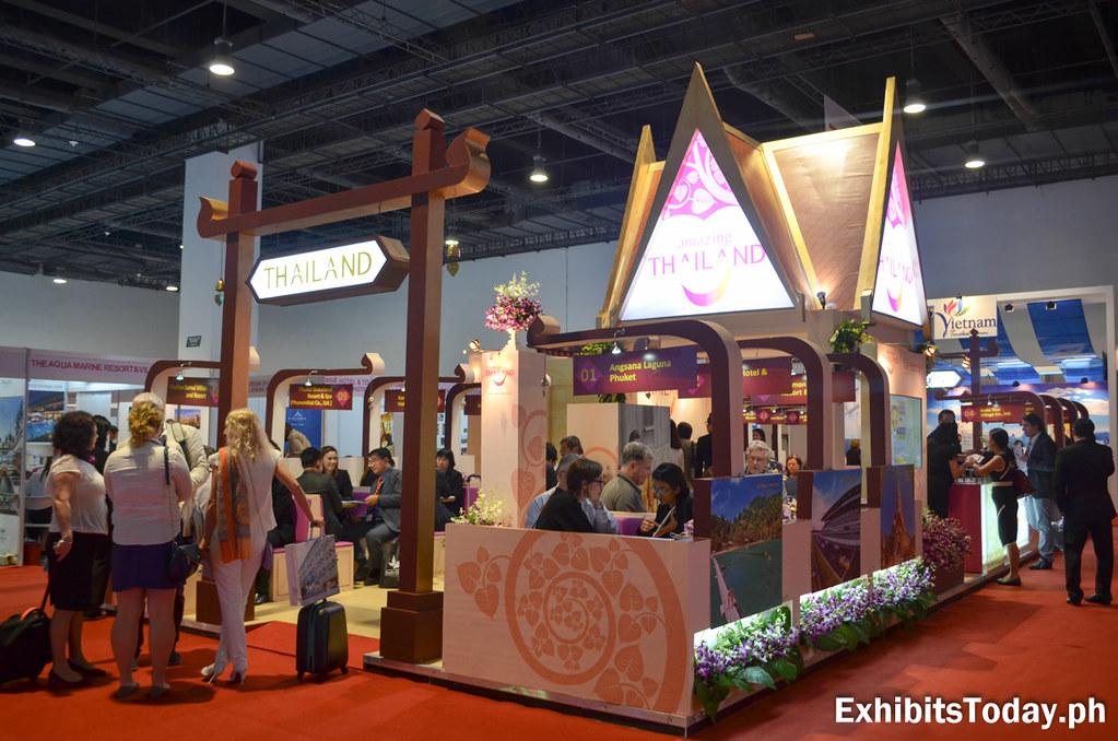 Amazing Thailand Trade Show Display