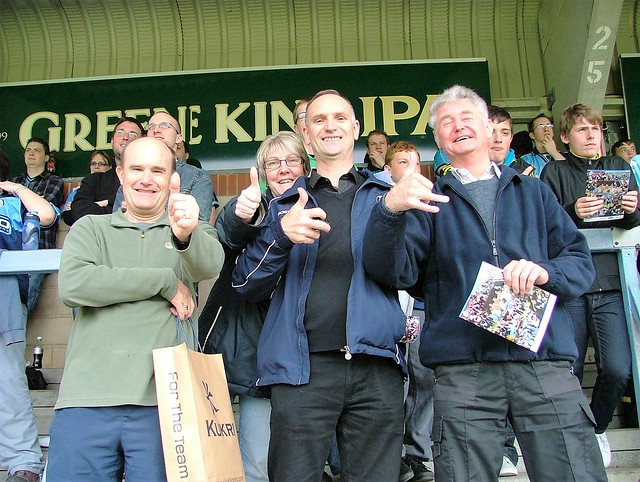 Some old gits, Adams Park