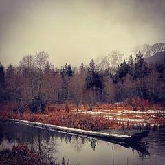 #landscape #photography #cduncanphoto #cellphone #fortsonmill #pond #Darrington #pnw #whitehorse #whitehorsetrail #onemorehashtagforgoodluck