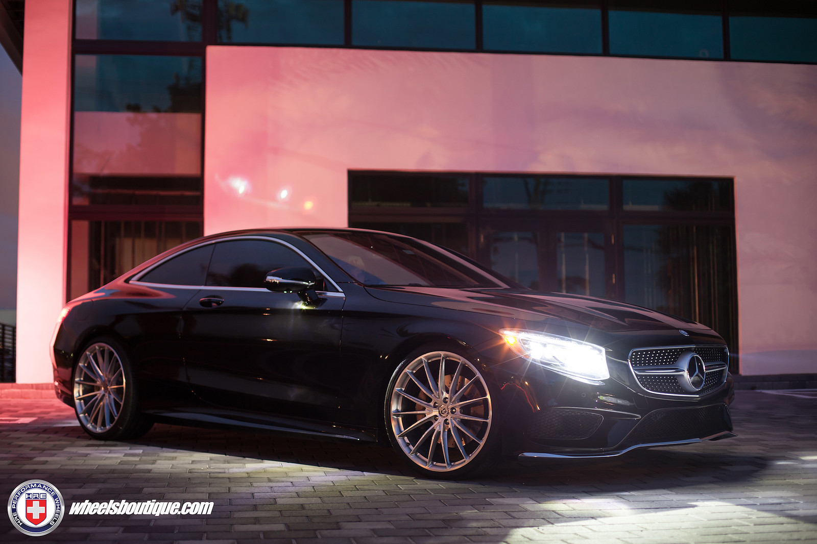Mercedes benz s550 coupe on hre p103 39 s by wheels boutique for Mercedes benz s550 rims