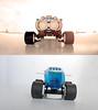 Space Hopper front&rear