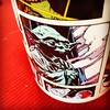 Morning coffee. #Yoda