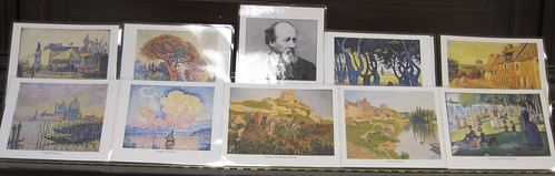 Paul Signac pointillism art work