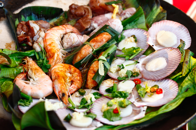 QQ BBQ Steamboat Grilled Seafood