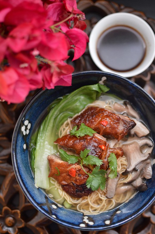 Roast Duck Noodle Soup