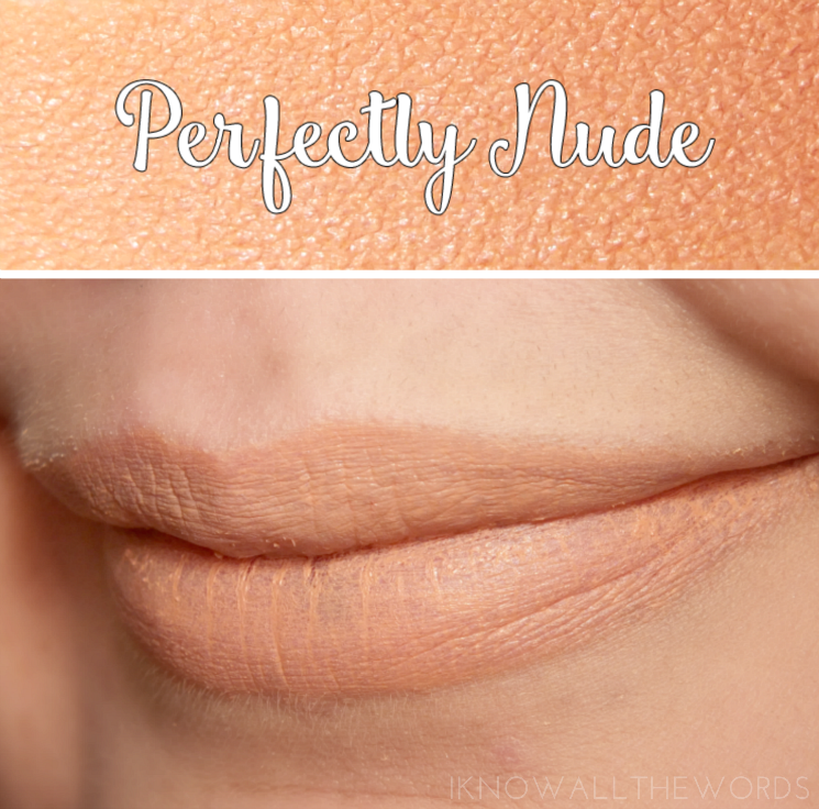 Avon True Colour Perfectly Matte Lipstick Perfectly Nude