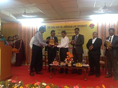 Recognition at Tamil Nadu Law University