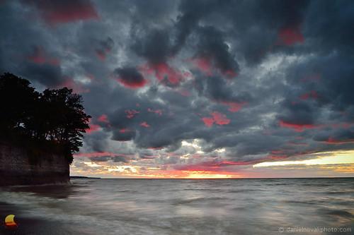 longexposure sunset red lake ny newyork beach nature water clouds landscape outdoors photography buffalo glow unitedstates hamburg cliffs slowshutter erie etbtsy