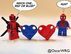 #LEGO #Marvel #LEGOmarvel #MarvelComics #Deadpool #SpiderMan #Valentine #ValentinesDay #LEGOvalentine #LEGOLove #Valentines #LOVEis @marvel @deadpoolmovie @20thcenturyfox @lego_group @lego @bricknetwork @brickcentral @bricksetofficial