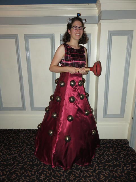 Dalek Dress by Jean Martin