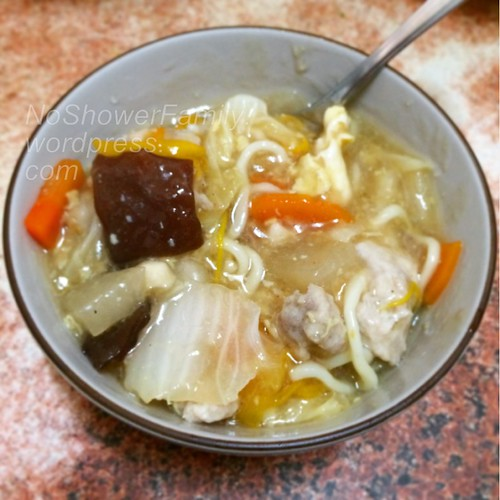 Lu mian (braised noodles)