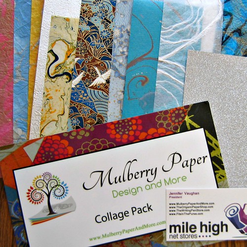 Mulberry Paper Design and More Collage Pack