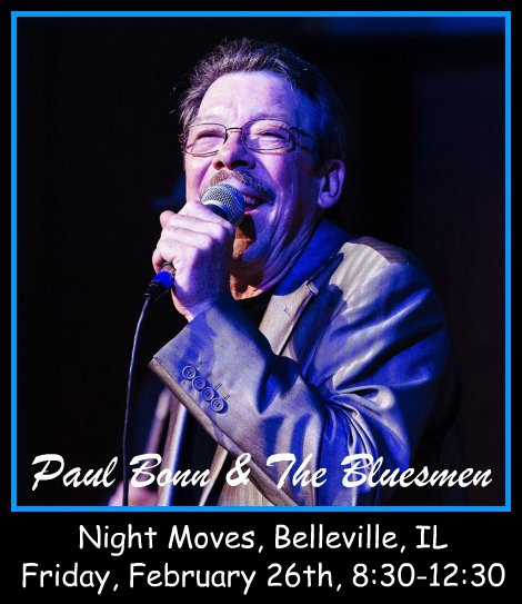 Paul Bonn & The Bluesmen 2-26-16