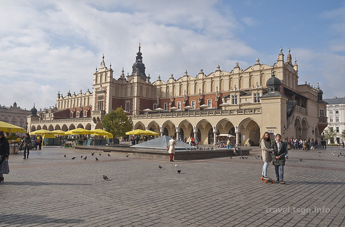 【写真】東欧周遊 : クラクフ・旧市街