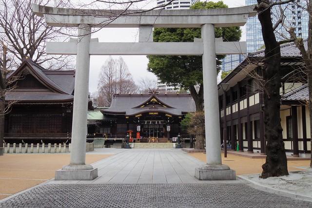 2016年3月13日新宿中央公園-2