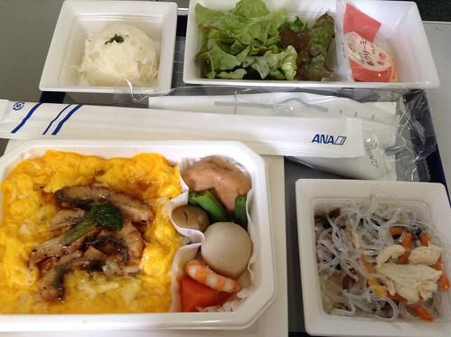 ANA NH10 dinner