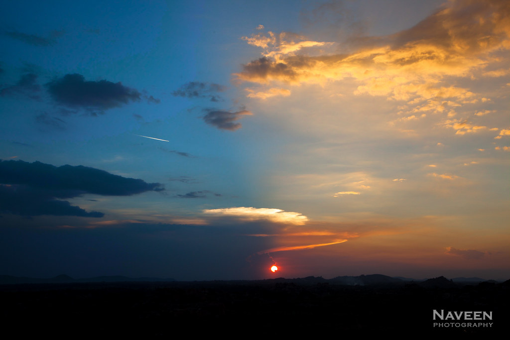 Night invades the Day | Spectacular Sunset