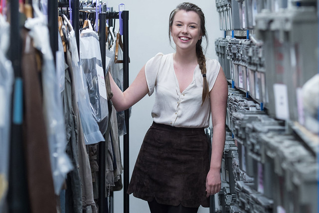 Costume Performance Support apprentice, Sophie O'Connor