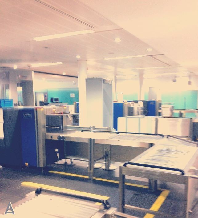 airport security equipment