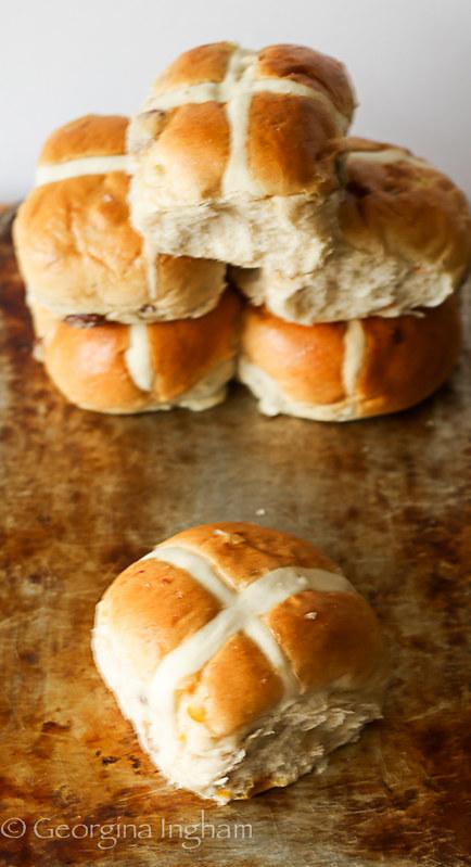 Georgina Ingham | Culinary Travels - Photograph Hot Cross Buns Chockfull of Christian Symbolism