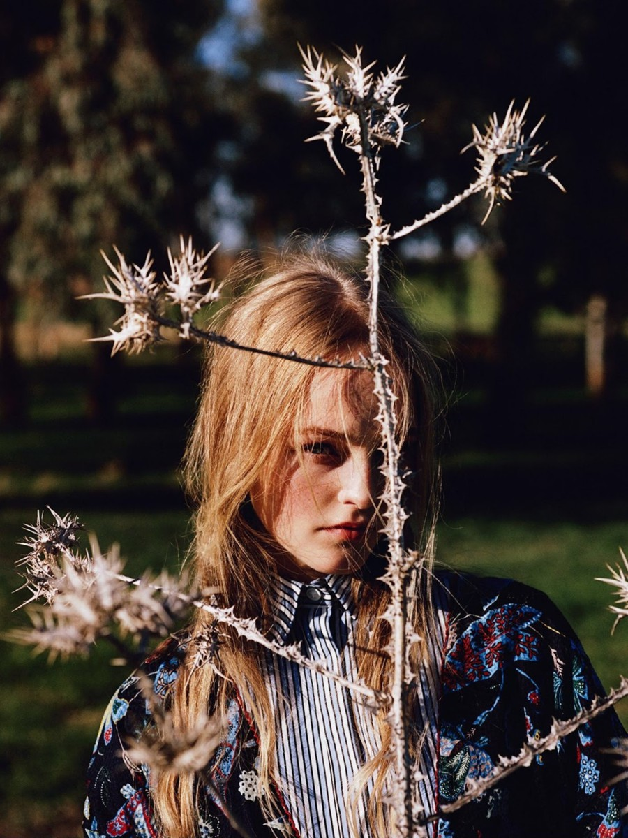 Jean Campbell By Alasdair Mclellan For Uk Vogue March 2016