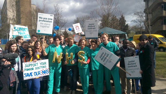 Junior doctors' industrial action - 6 to 8 April 2016