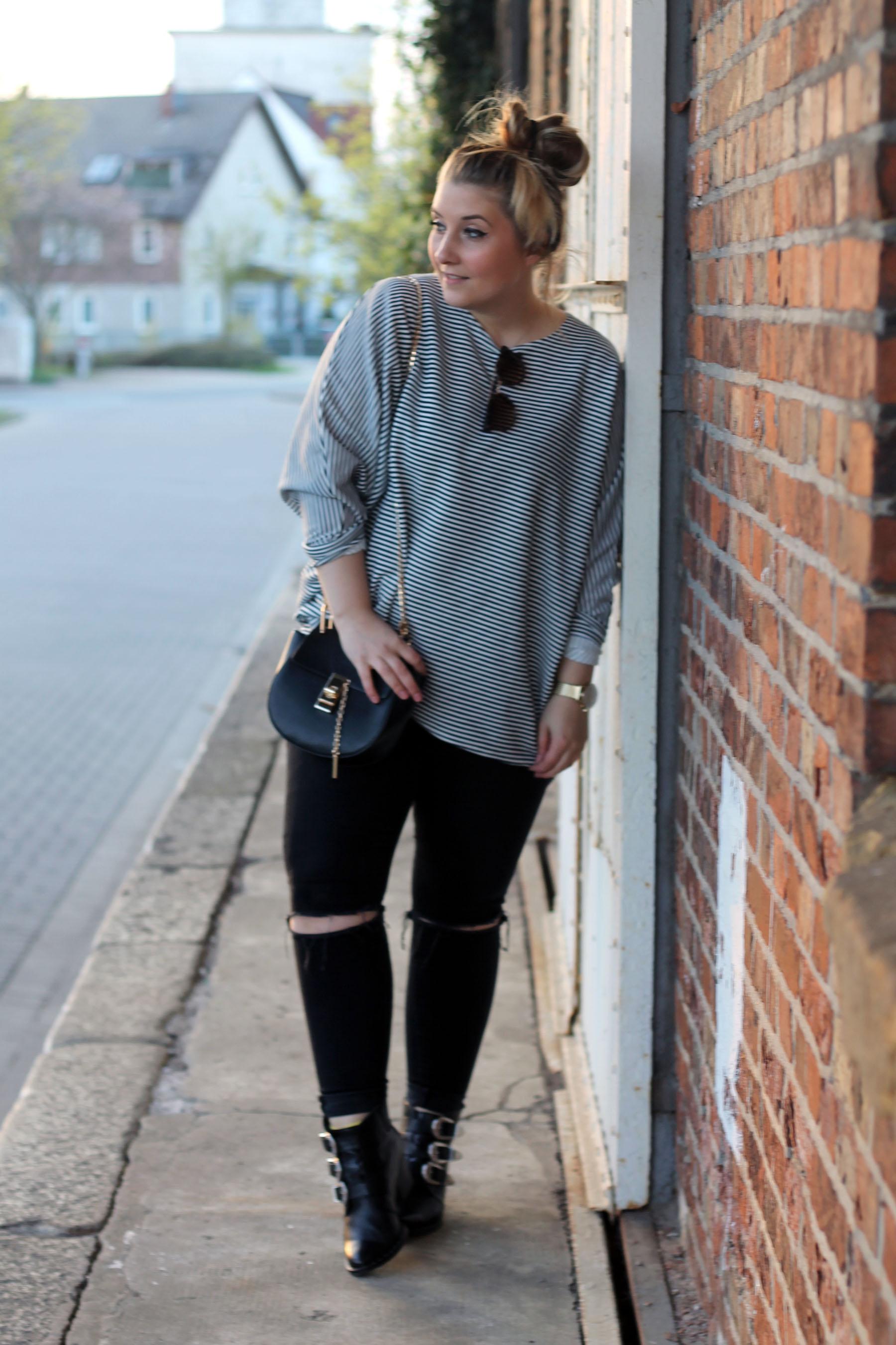 outfit-modeblog-fashionblog-gestreiftes-shirt-boots