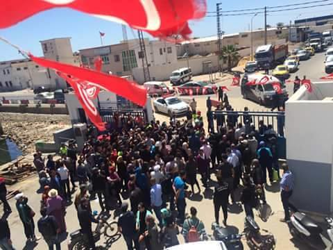Clashes Between Security Services and Protesters Resume on Kerkennah