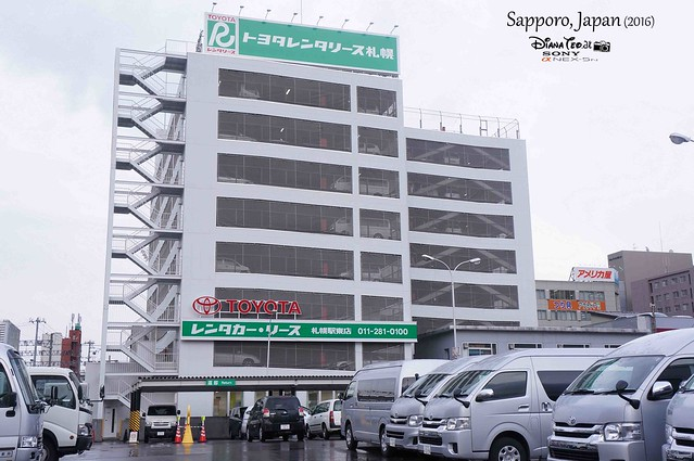 2016 Japan, Hokkaido - Sapporo Toyota Rent A Car
