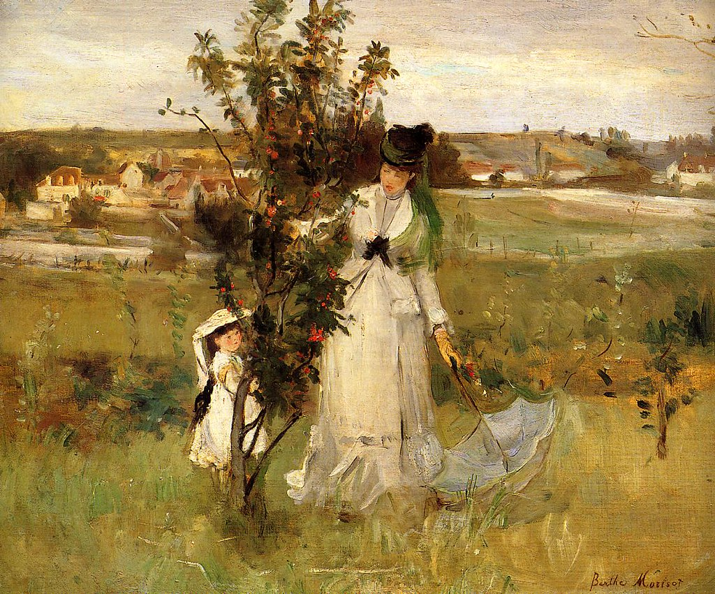Hide and Seek by Berthe Morisot, 1873