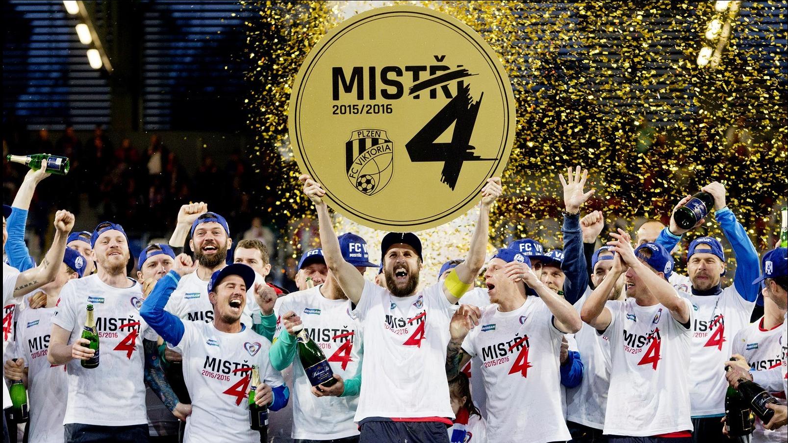 160430_CZE_Viktoria_Plzen_v_Banik_Ostrava_2_0_Viktoria_players_celebrate_title_v4_LHD