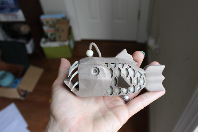 3D Printing - Anglerfish - In Hand