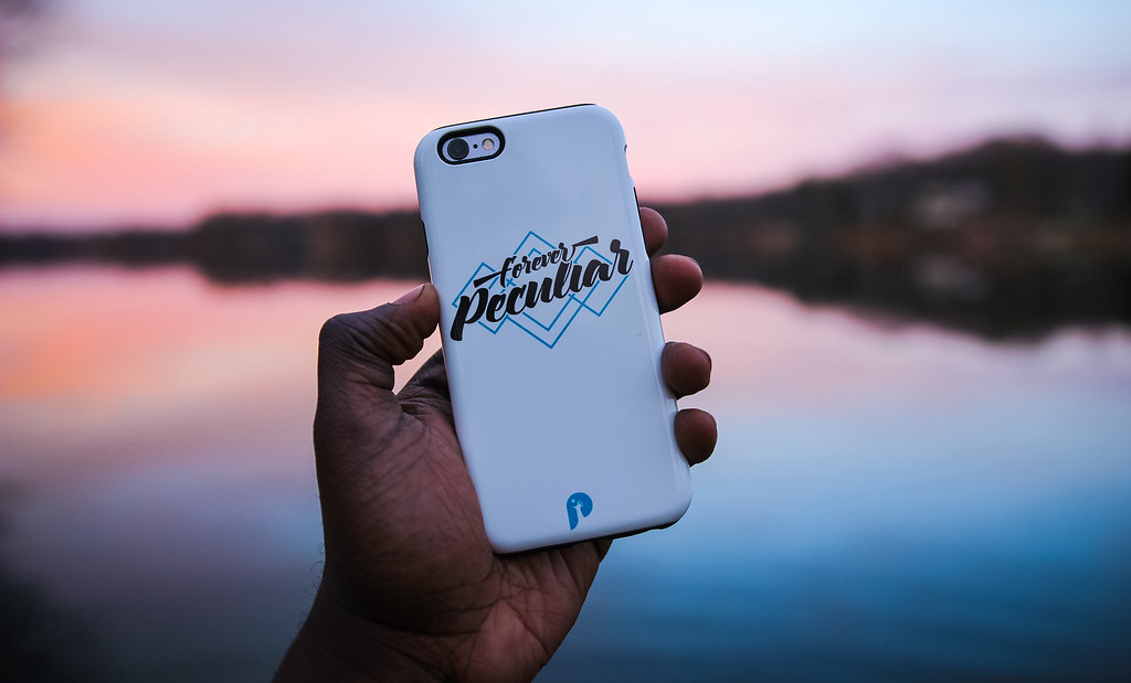 """Forever Peculiar"" iPhone Case"