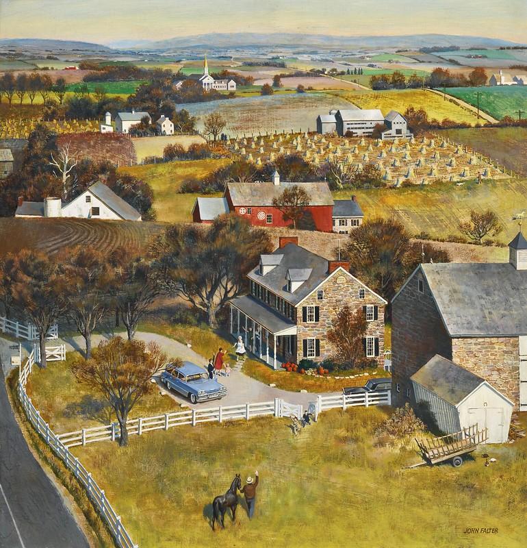 John Philip Falter - The visit