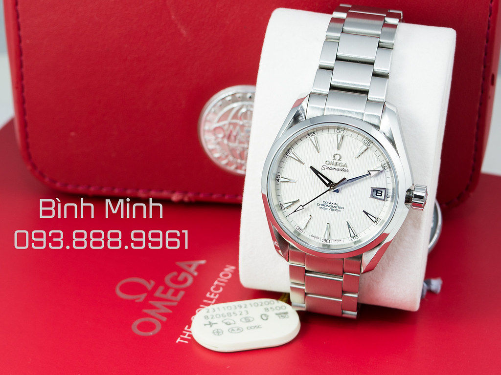 Omega Aqua Terra Co-Axial Calibre in-house 8500 Automatic, mới 99% full box, 2 thẻ