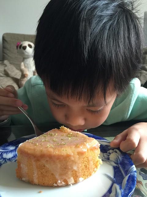 老奶奶的檸檬蛋糕