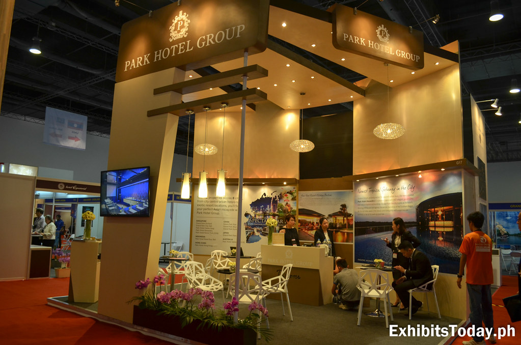 Park Hotel Group Exhibit Stand