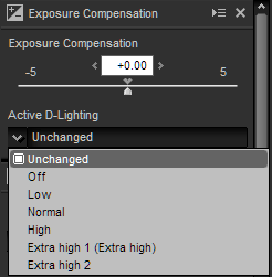 NX-D exposure panel