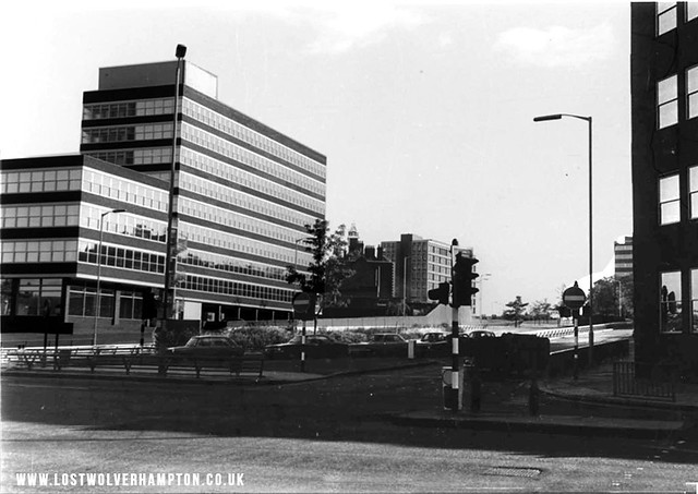 Pictured in 1974, what was once Wadhams Hill.