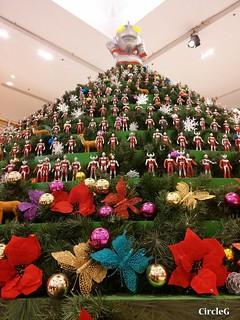 將軍澳廣場 超人聖誕樹 ULTRAMAN HONGKONG 2015 CIRCLEG 聖誕裝飾 (1)