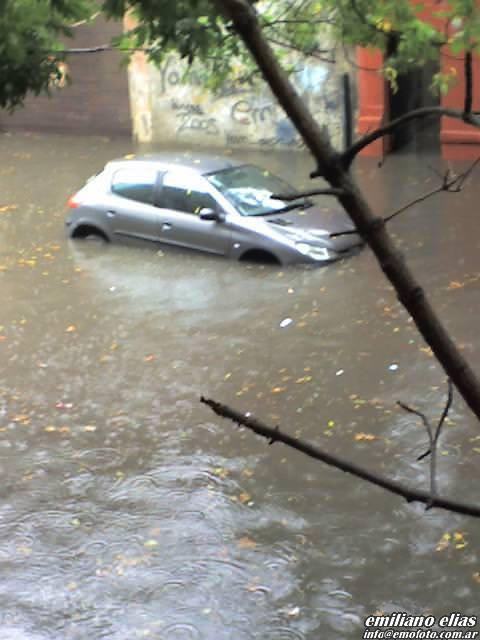 20070308 - Inundación en Palermo, Buenos Aires