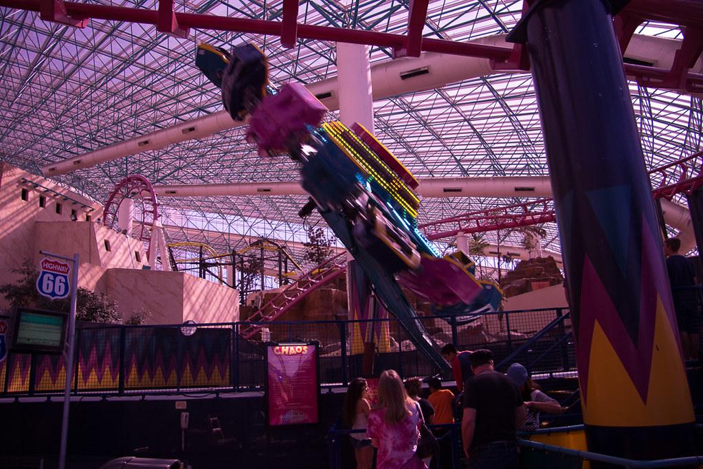 Rides at Circus Circus