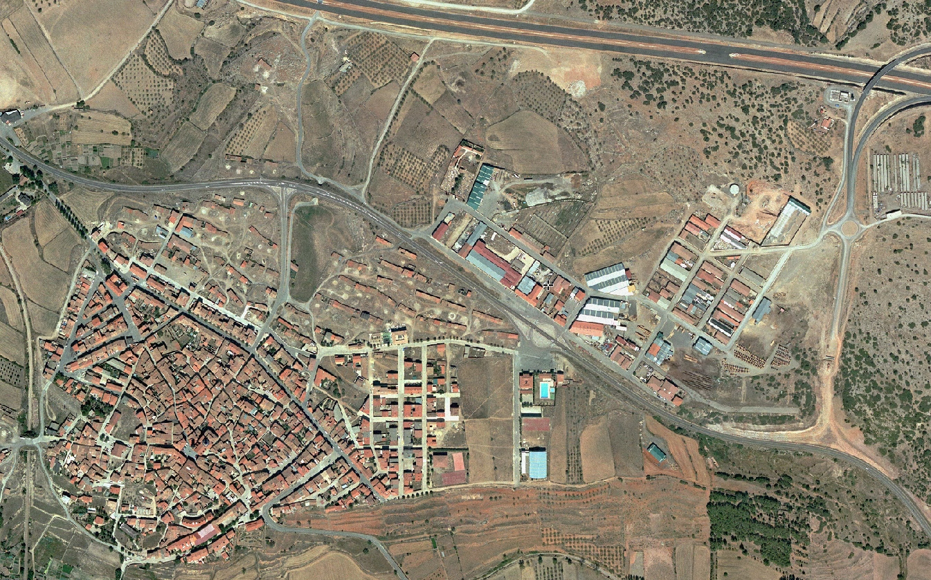 sarrión, teruel, tartarín de tarascón, antes, urbanismo, planeamiento, urbano, desastre, urbanístico, construcción