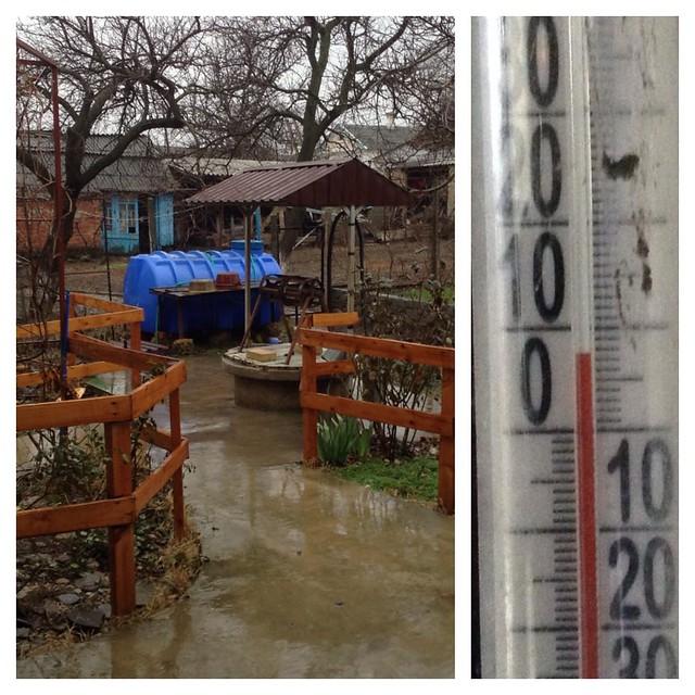 В стране 12 месяцев сегодня весна и проливной дождь!))) #старыйкрым