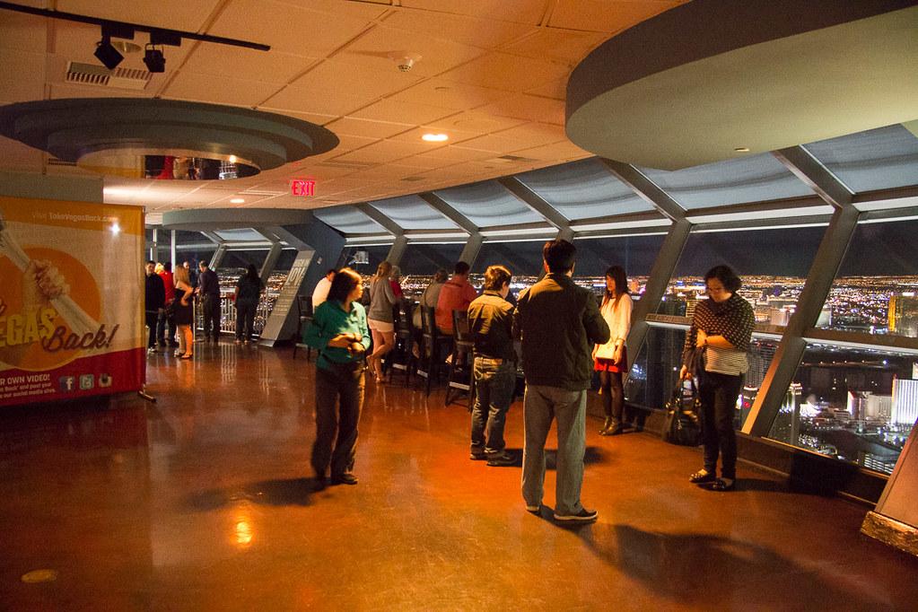 Stratosphere observation deck