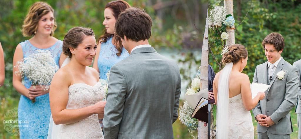 Tete Jaune Lodge Wedding Ceremony