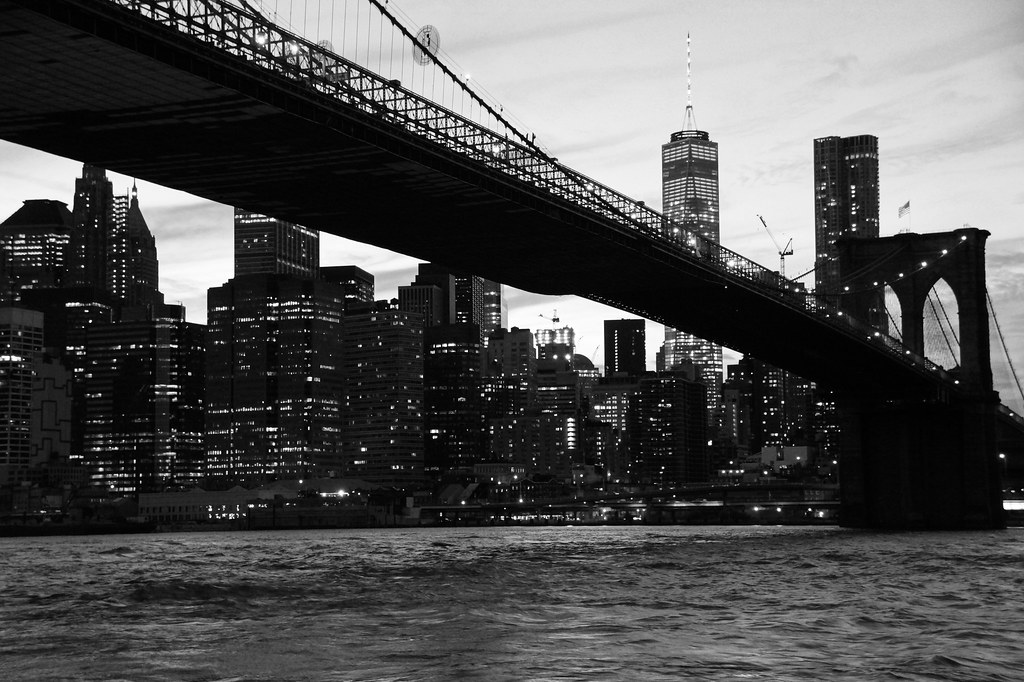 Manhatten and Brooklyn Bridge