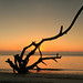 Sunset, Saint Andrews Sound, Saint Andrews Beach, Jekyll Island, Glynn County, Georgia 1 by Alan Cressler