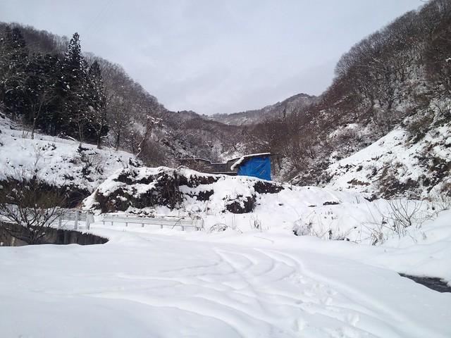 土蔵岳 上原谷 林道