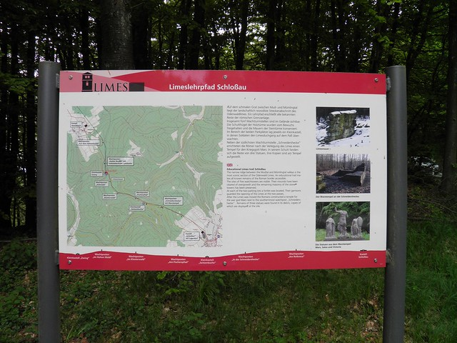 Neckar-Odenwald-Limes ORL Limes - Kleinkastell zwing
